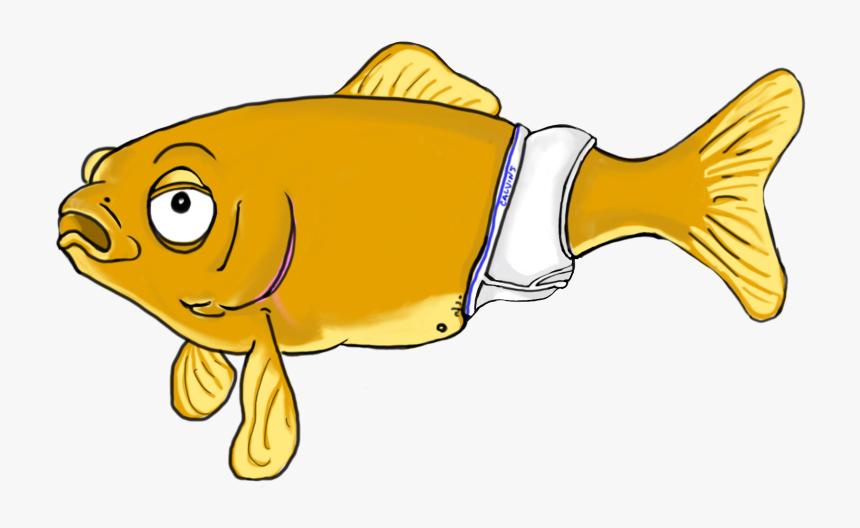 Goldfish Aquarium Isolated Feeding Goldfish Hand Stock Vector (Royalty Free)  394742344