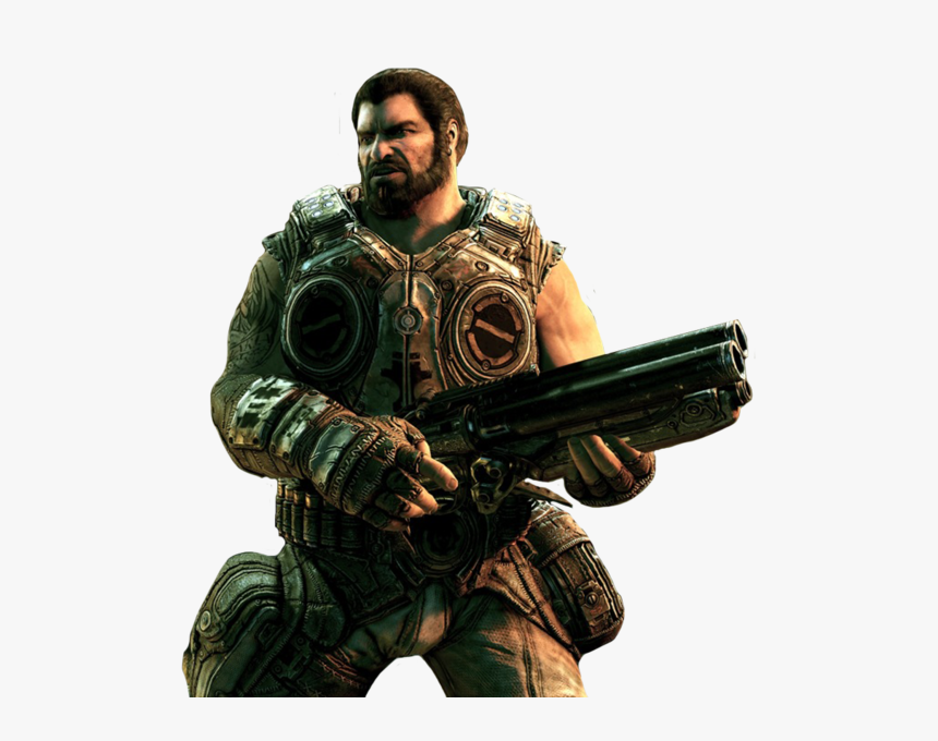Transparent Gears Of War Marcus Png - Gear Of War 3 Dom, Png Download, Free Download
