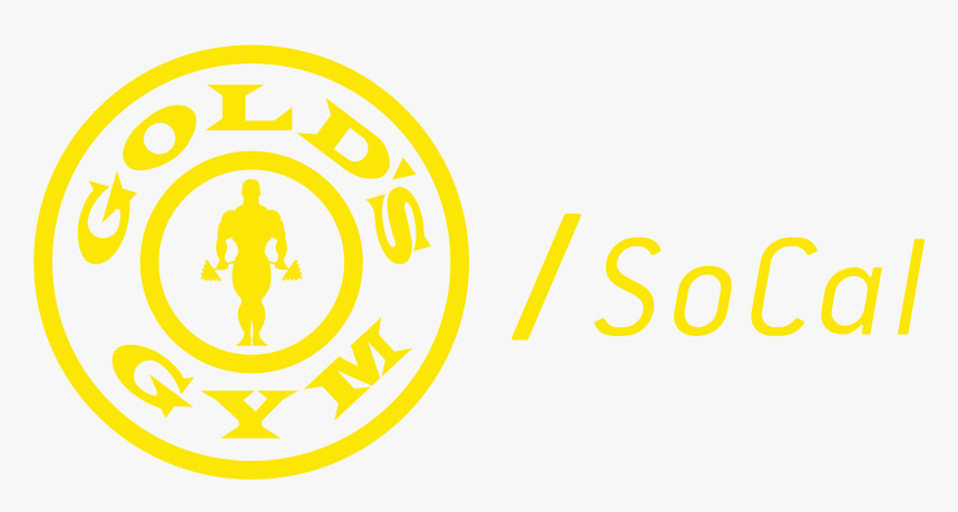 Gold's Gym Socal Logo, HD Png Download, Free Download