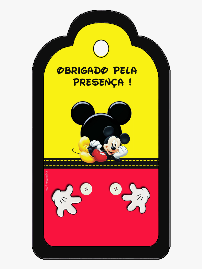 Clip Art Convite Mickey Mouse - Tags Mickey, HD Png Download, Free Download