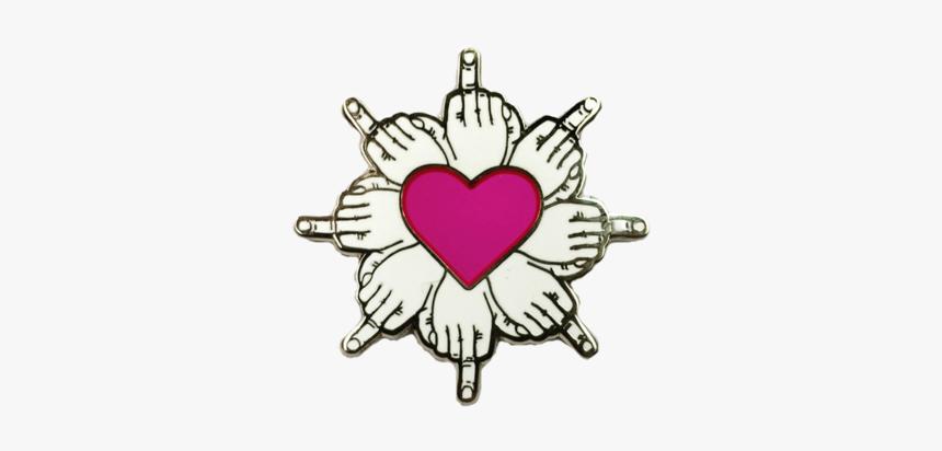 Delicate Finger Flower Pin - Emblem, HD Png Download, Free Download