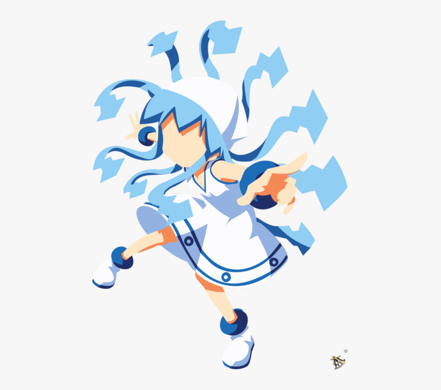 Squid Girl Chibi Png, Transparent Png, Free Download