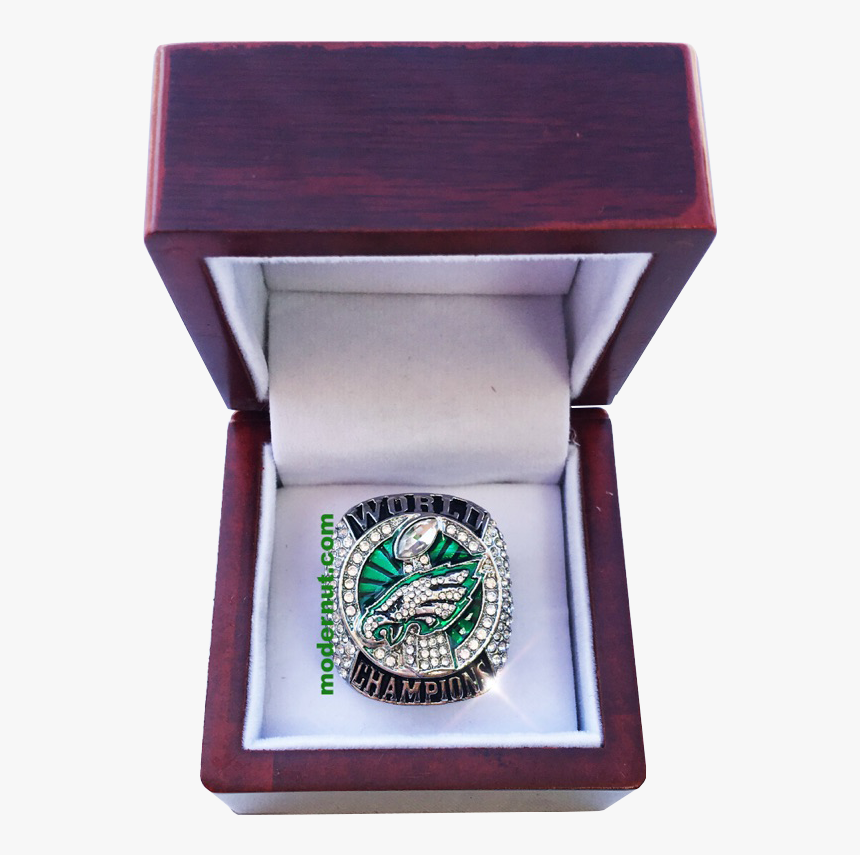 """Eagles Logo Cherry Wood Ring Box""""  Class= - Box, HD Png Download, Free Download"""
