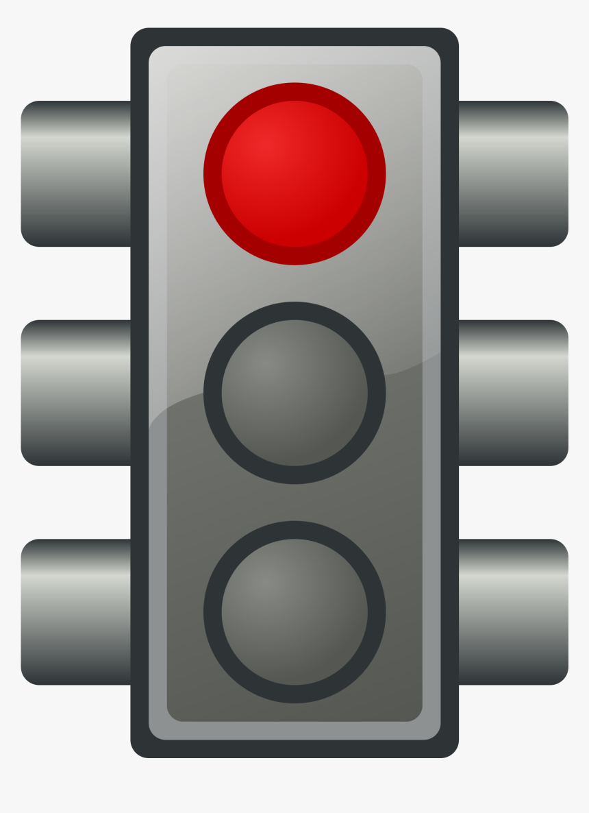 Red Traffic Light Icons Png - Green Traffic Light Clipart, Transparent Png, Free Download