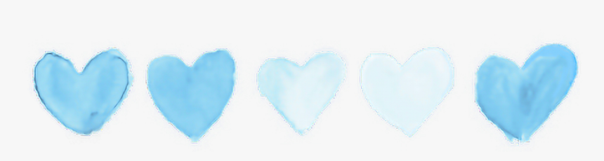 #blue #pastel #tumblr #heart #hearts #aesthetic #aesthetics - Instagram Photo Theme Divider, HD Png Download, Free Download