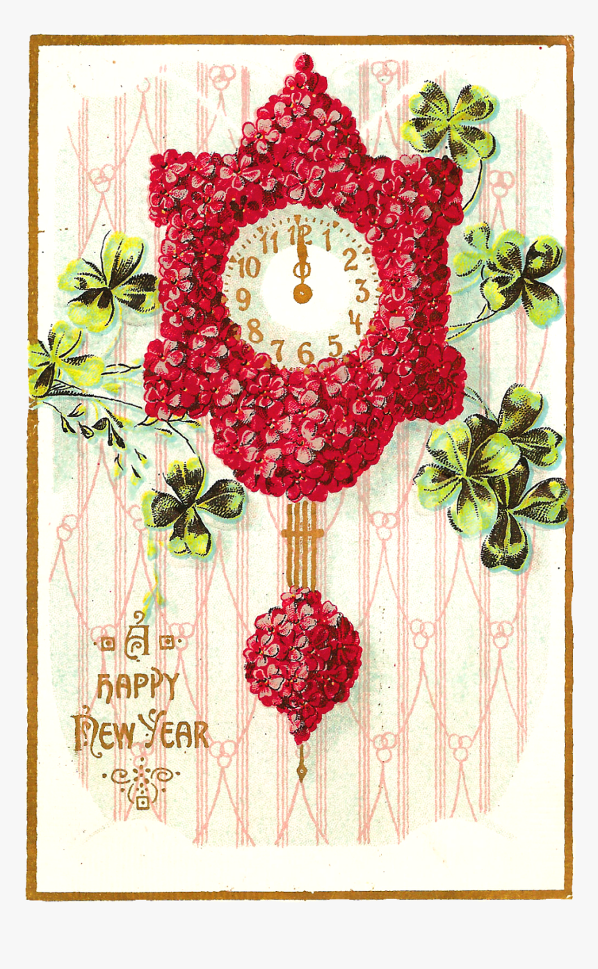 New Year S Wishes And Flowers, HD Png Download, Free Download