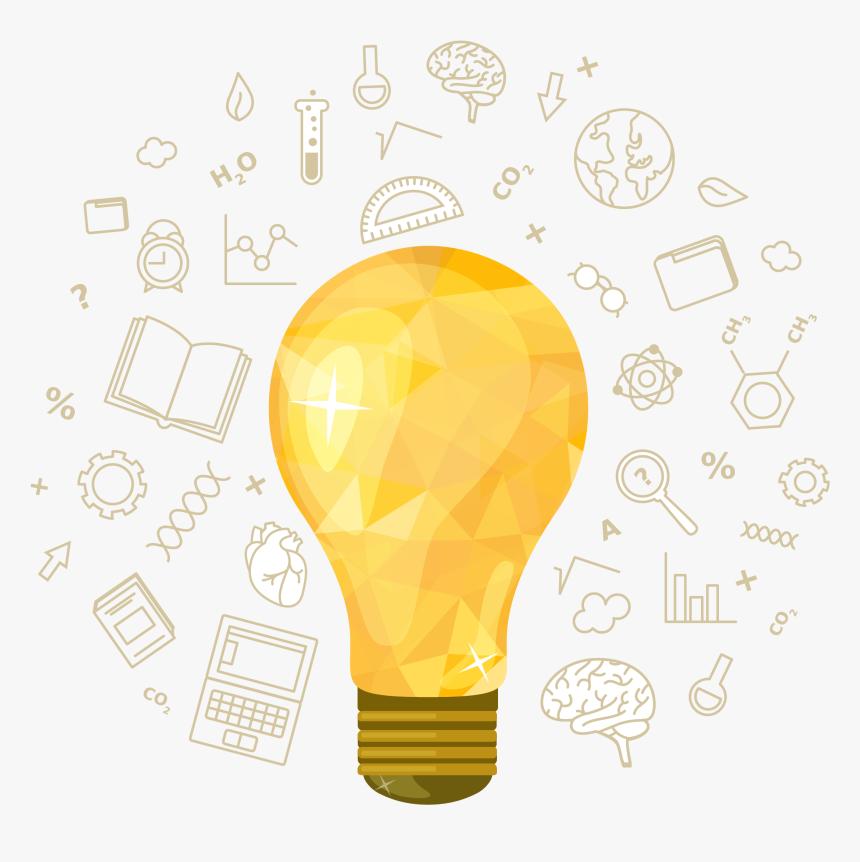 Ideias Lampada Desenho Hd Png Download Kindpng