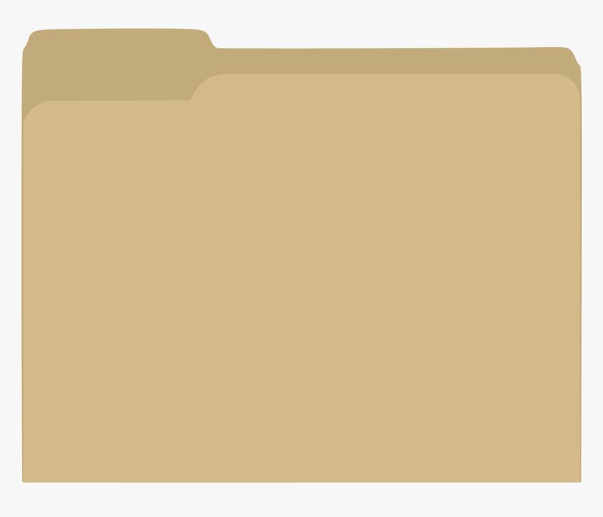 Manila Folder Png - File Folder Vector Free, Transparent Png, Free Download