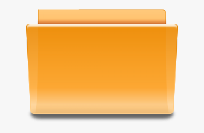 Folder Icons Orange , Transparent Cartoons, HD Png Download, Free Download
