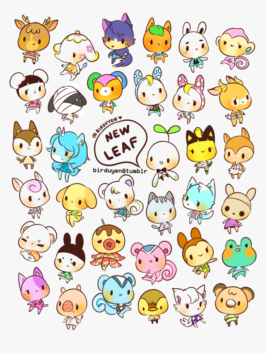 Transparent Tumblr Collage Stickers Png Animal Crossing New Leaf