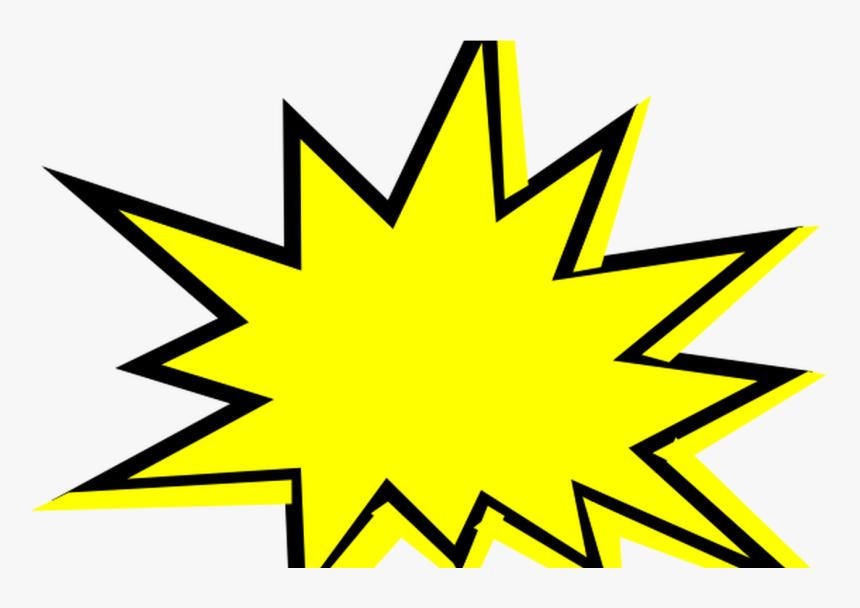 Flash Starburst Clip Art Outline Free Clipart Images - Starburst Clip Art, HD Png Download, Free Download