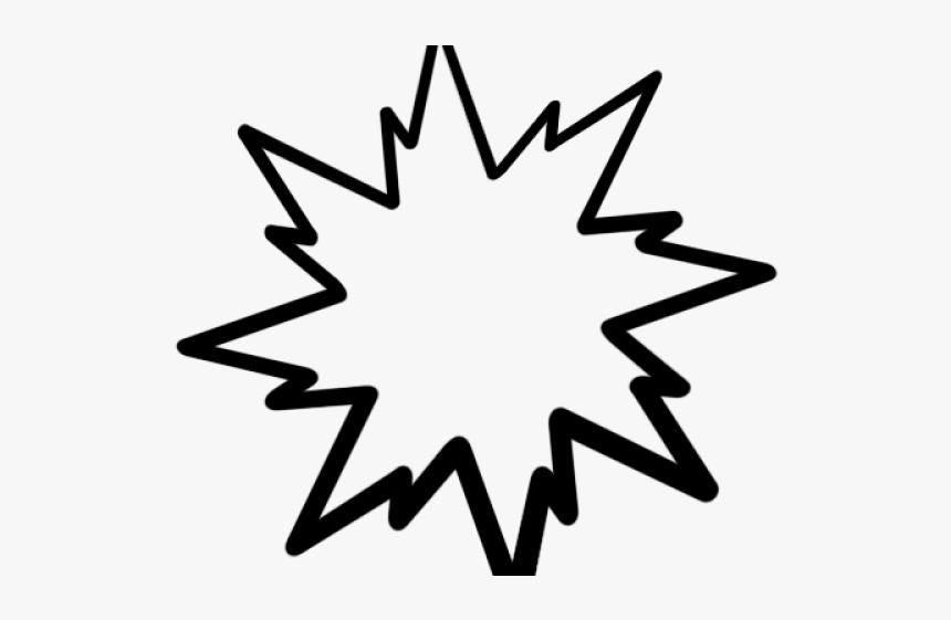 Pop Art Clipart Starburst - Starburst Clip Art, HD Png Download, Free Download