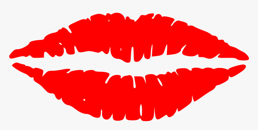 Red Lip Clip Art, HD Png Download, Free Download