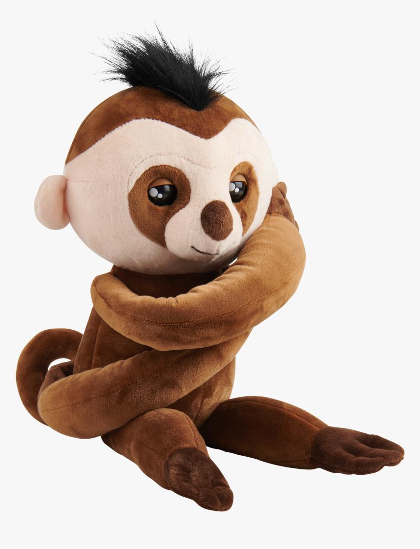 Fingerling Hugs Sloth, HD Png Download, Free Download