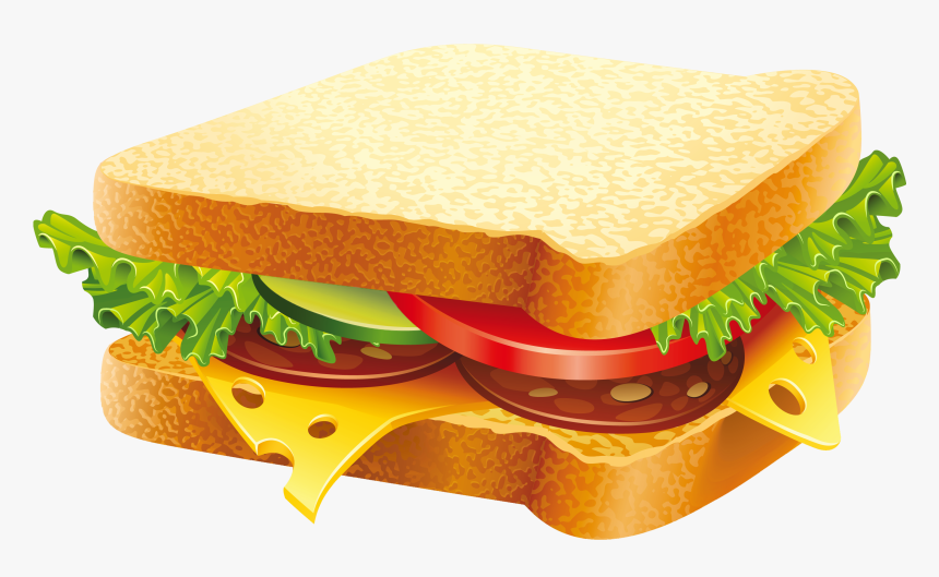 Clip Art Turkey And Clip Art - Sandwich Png, Transparent Png, Free Download