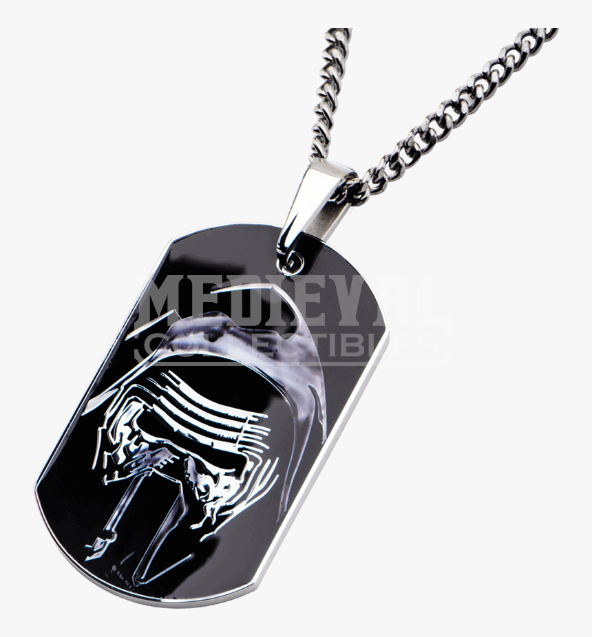 Kylo Ren Charms & Pendants Star Wars Chain Dog Tag - Locket, HD Png Download, Free Download