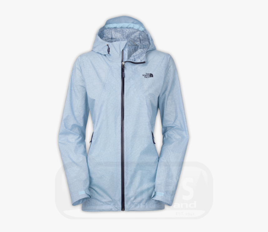 North Face Venture Fastpack Rain Jacket Powder Blue, HD Png Download, Free Download