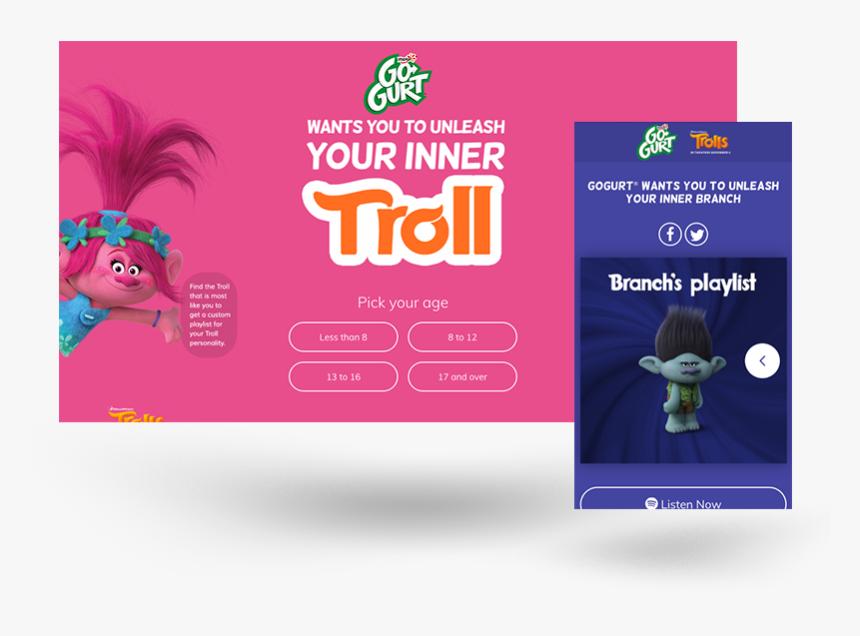 Trolls - Gogurt Trolls, HD Png Download, Free Download