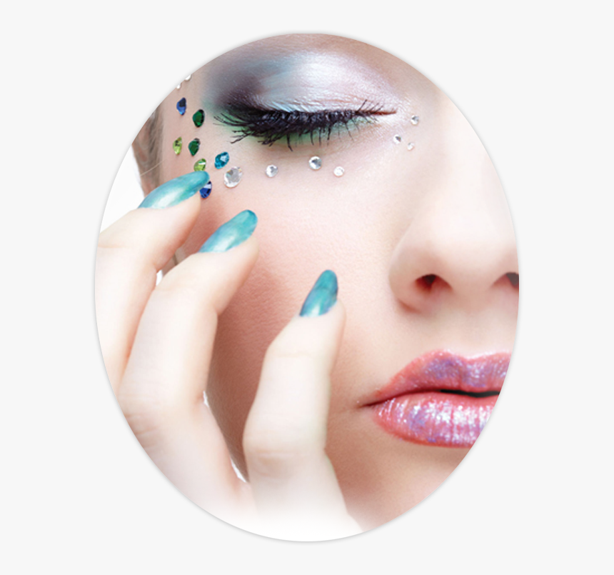 Make Up And Nail Art Png Download Beauty Parlour Transparent Background Png Salon Makeup Png Download Kindpng