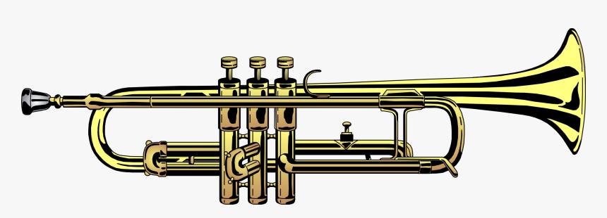 Clip Art Trumpet Free Clipart Library Transparent Background Trumpet Png Png Download Kindpng