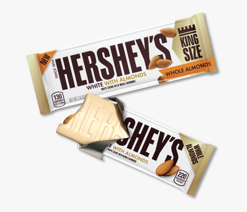 Hershey White Almond, HD Png Download