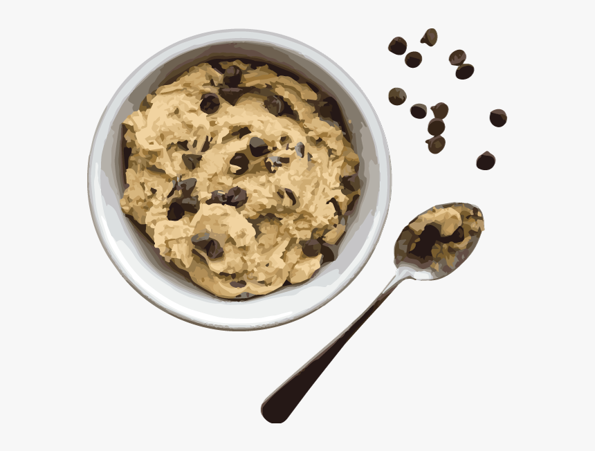 Transparent Cookie Dough Png - Cookie Dough Bowl Png, Png Download, Free Download