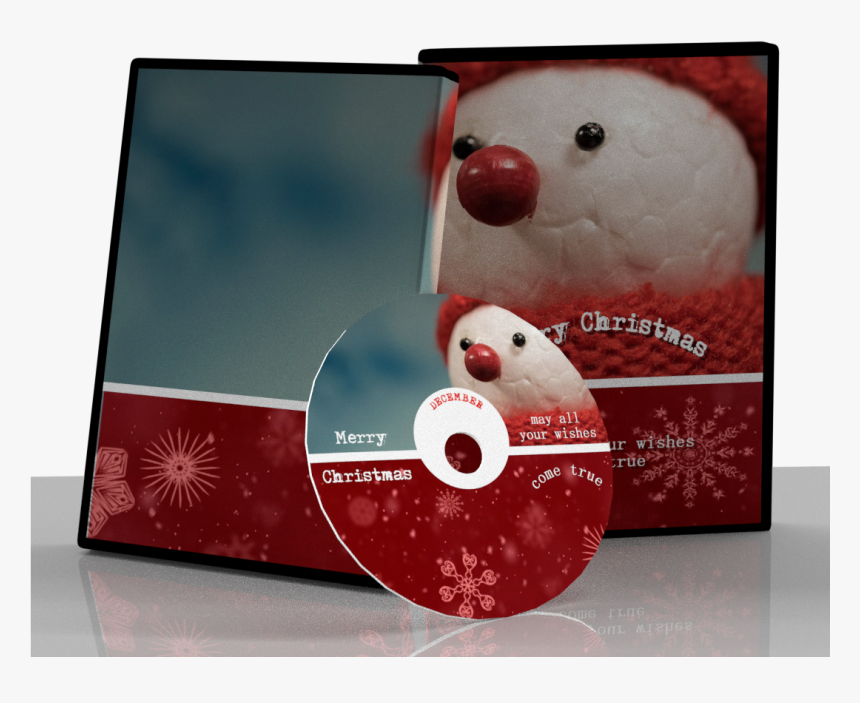 Cd Christmas Cover Design, HD Png Download, Free Download