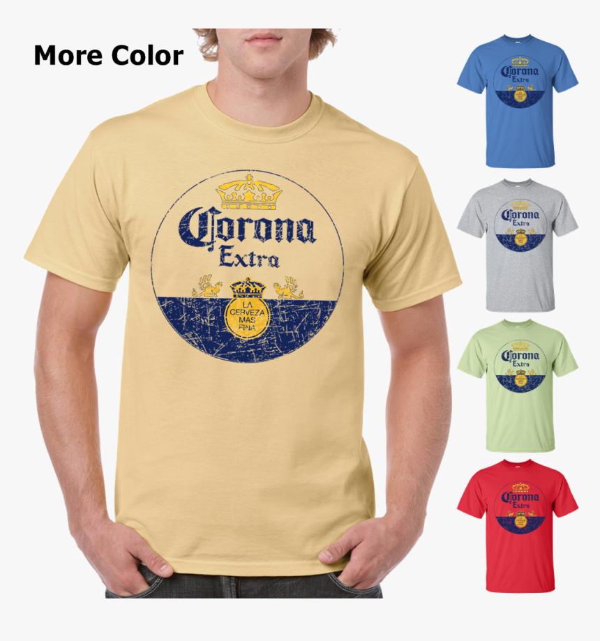 Corona Extra Beer T-shirt - Kaos Polos Warna Mint, HD Png Download, Free Download