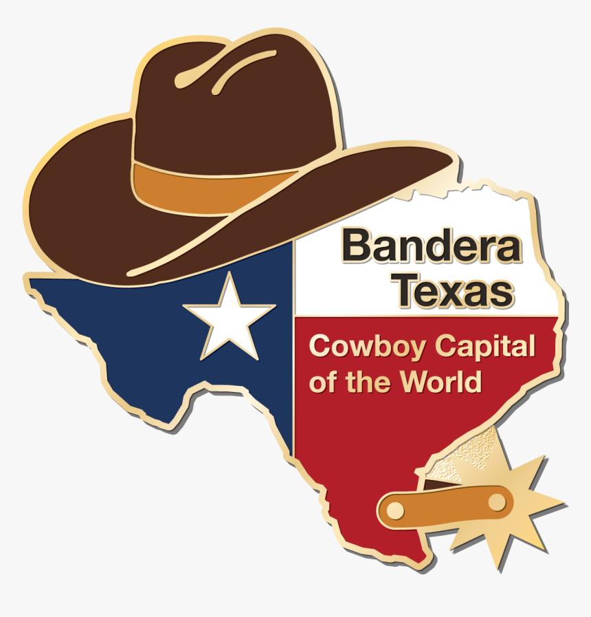 Bandera General Store Pin - Texas Thin Blue Line Svg, HD Png Download, Free Download