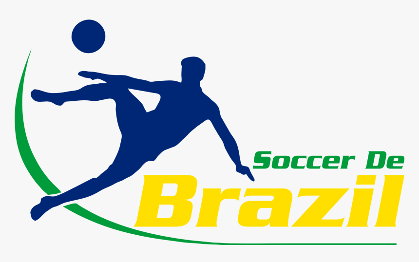 Playing-sports - Soccer De Brazil Logo, HD Png Download, Free Download