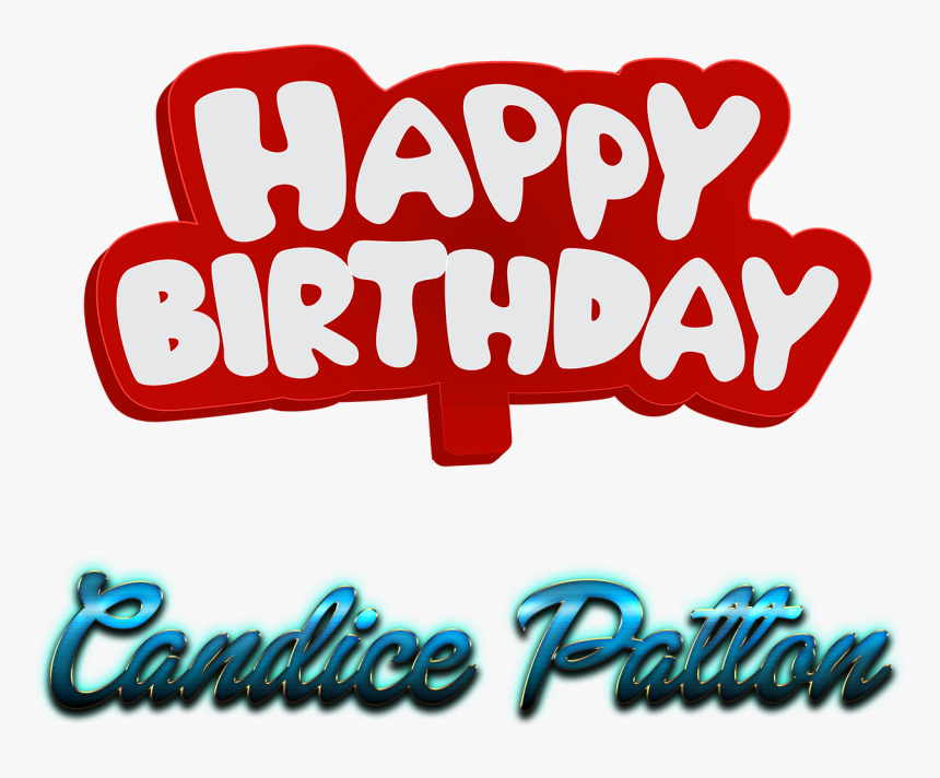 Candice Patton 3d Letter Png Name - Logo, Transparent Png, Free Download