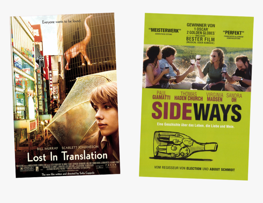 Lost In Translation 2003 Movie Poster, HD Png Download, Free Download