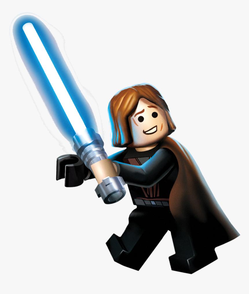 Lego Anakin Lego Star Wars The Complete Saga Anakin Hd Png Download Kindpng