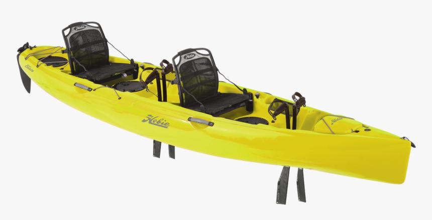 2019 Hobie Mirage Oasis Tandem Pedal Kayak - Tandem Pedal Kayak, HD Png Download, Free Download