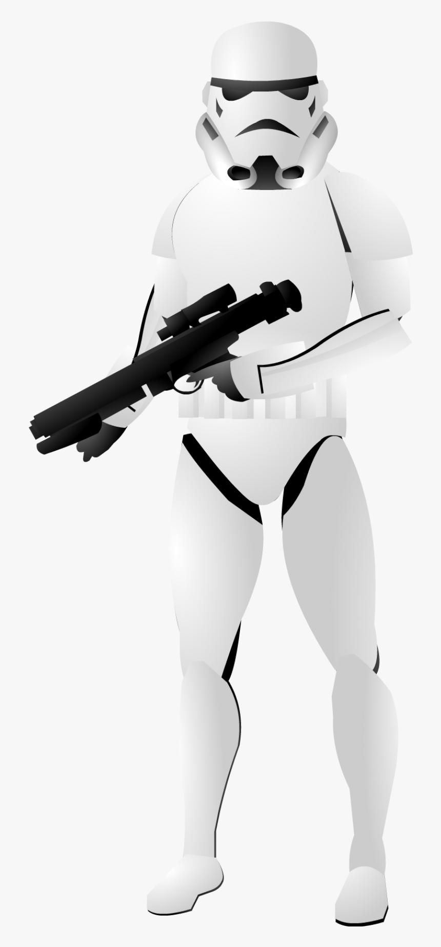 Stormtrooper Background Transparent - Stormtrooper Pictures No Background, HD Png Download, Free Download
