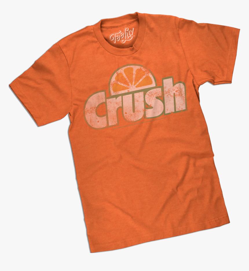 Orange Crush Tee Shirt - Active Shirt, HD Png Download, Free Download