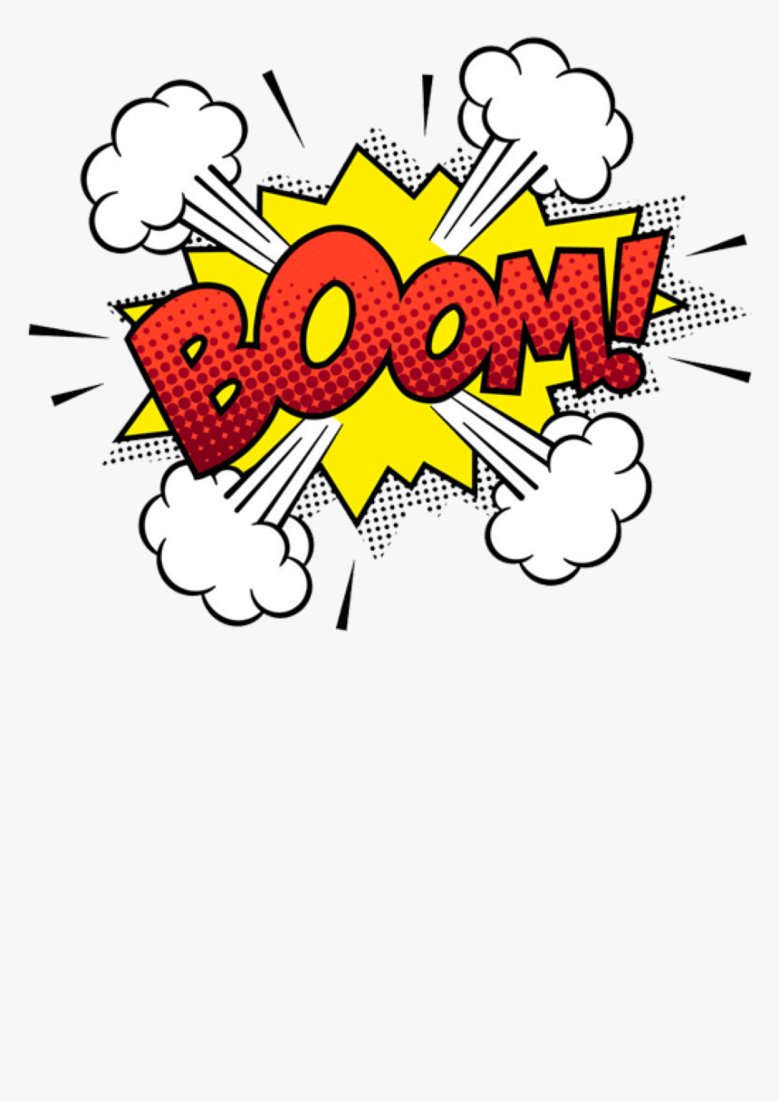 #boom #soundeffect #sound #comic #comicbook #freetoedit - Comic Pop Art Png, Transparent Png, Free Download