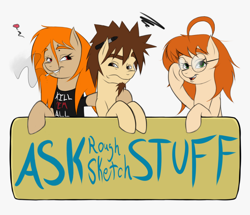 994393 Safe Oc Oc Only Tumblr Ask Artis - Cartoon, HD Png Download, Free Download