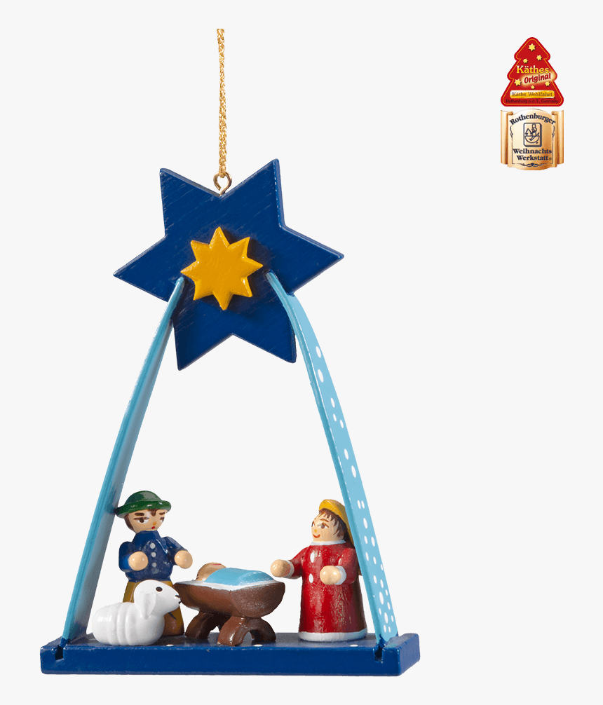 Arch With Nativity - Christmas Ornament, HD Png Download, Free Download