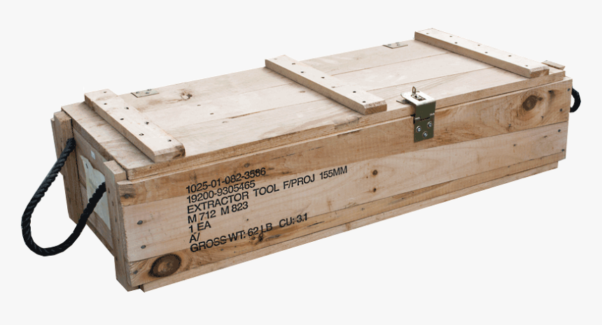 Military Wooden Supply Crate, HD Png Download, Free Download