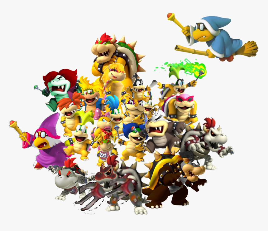 Dry Bowser Mario Kart Wii Png Download Mario Kart 8