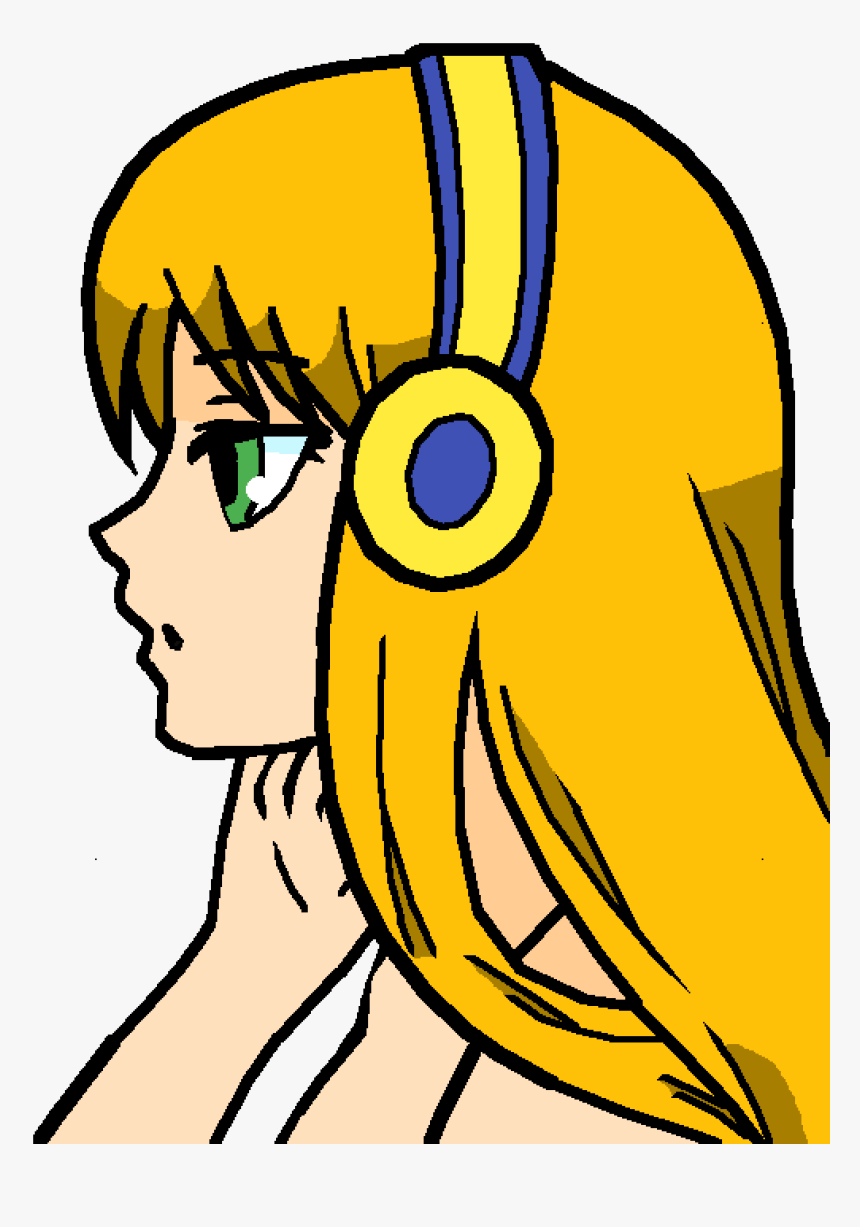 Transparent Roblox Head Png Anime Girl Not Colored Png Download
