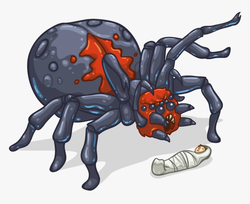 Giant Spider Cartoon, HD Png Download, Free Download