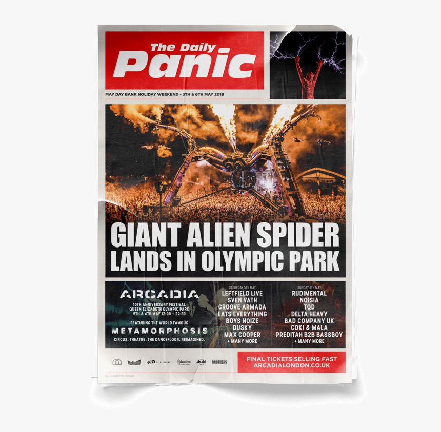 Map Arcadia Daliy Panic Poster - Chewbacca, HD Png Download, Free Download
