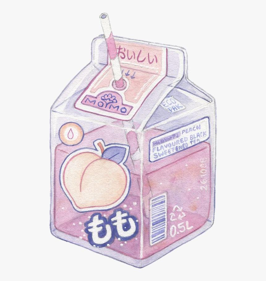 Peach Cute Kawaii Pastel Aesthetic Tumblr Overlay Peach Aesthetic Tumblr Drawing Hd Png Download Kindpng