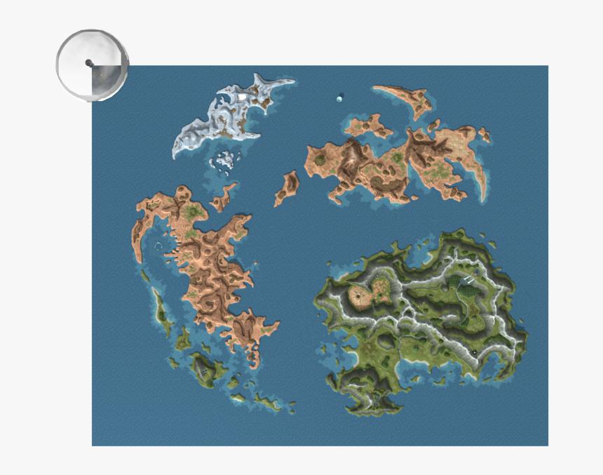 Transparent Final Fantasy Ix Logo Png - Ffix World Map High Res, Png Download, Free Download