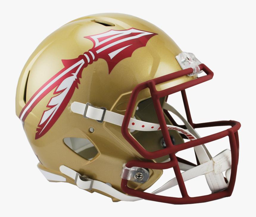 "Florida State Seminoles Replica Full Size Speed Helmet""   - Florida State Seminoles Football Helmet, HD Png Download, Free Download"