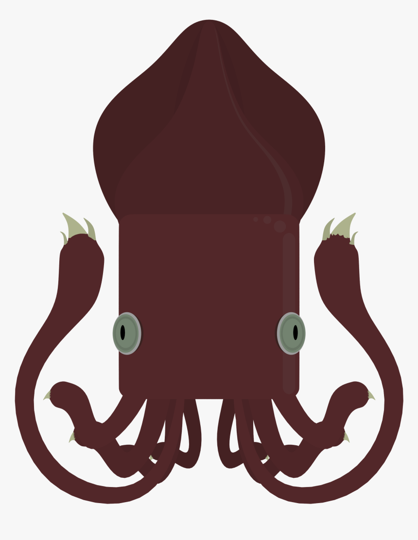 Giant Squid Png, Transparent Png, Free Download