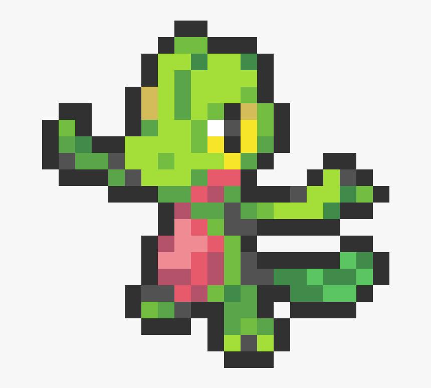 Pixel Art Pokemon Treecko, HD Png Download, Free Download