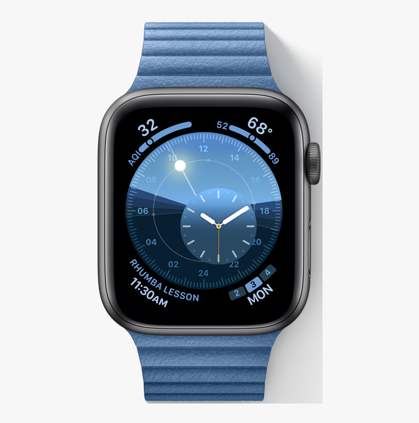 Apple Introduces A New Solar Watch Face In Watchos - Apple Watch Ios 6, HD Png Download, Free Download
